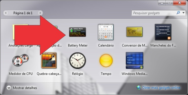 gadget windows status bateria notebook 8