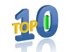 Top10 bateria