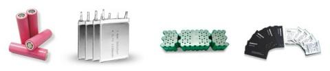 tipos de bateria recarregaveis