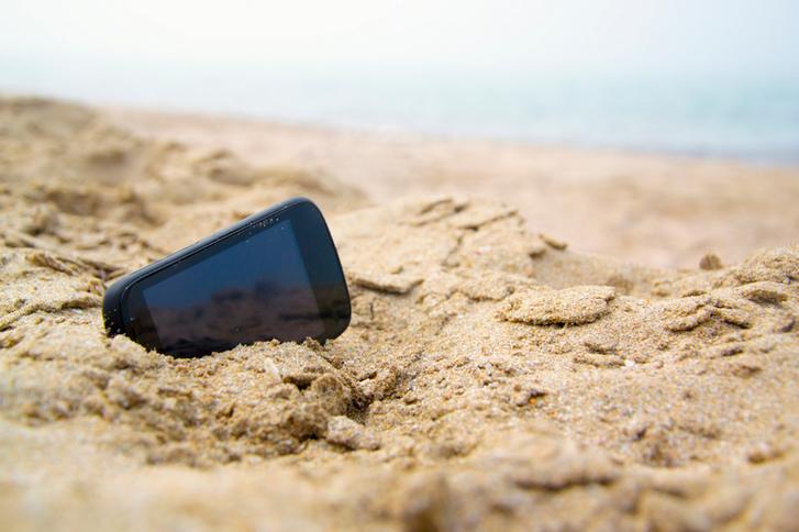 bateria de areia, com duração três vezes maior