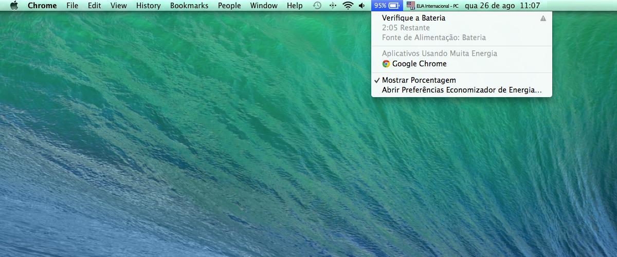 Como identificar problemas com a bateria do seu Macbook